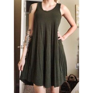 Z Supply Army Green Dress (Size-XS)